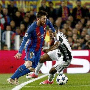 Leo Messi Camp Nou Barça Juventus Champions League Alex Sandro EFE