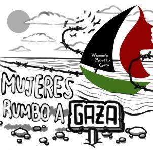 2 mujeres rumbo a gaza