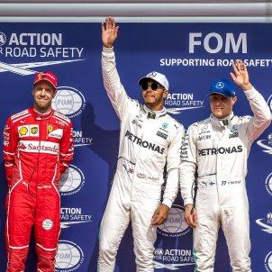 Hamilton Vettel Bottas Spa Francorchamps Fórmula 1 Efe