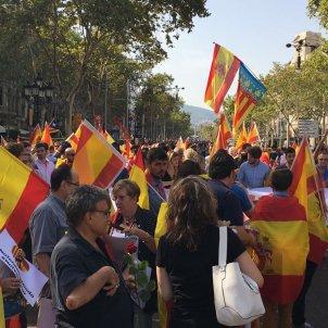 Banderes espanyoles PP Nicolàs Tomàs