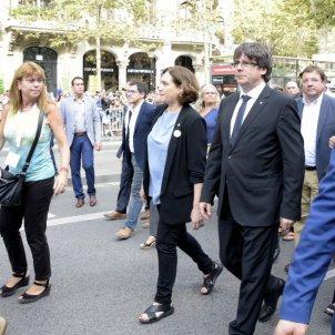 PUIGDEMONT COLAU MANIFESTACIO ATEMPTATS BARCELONA LG