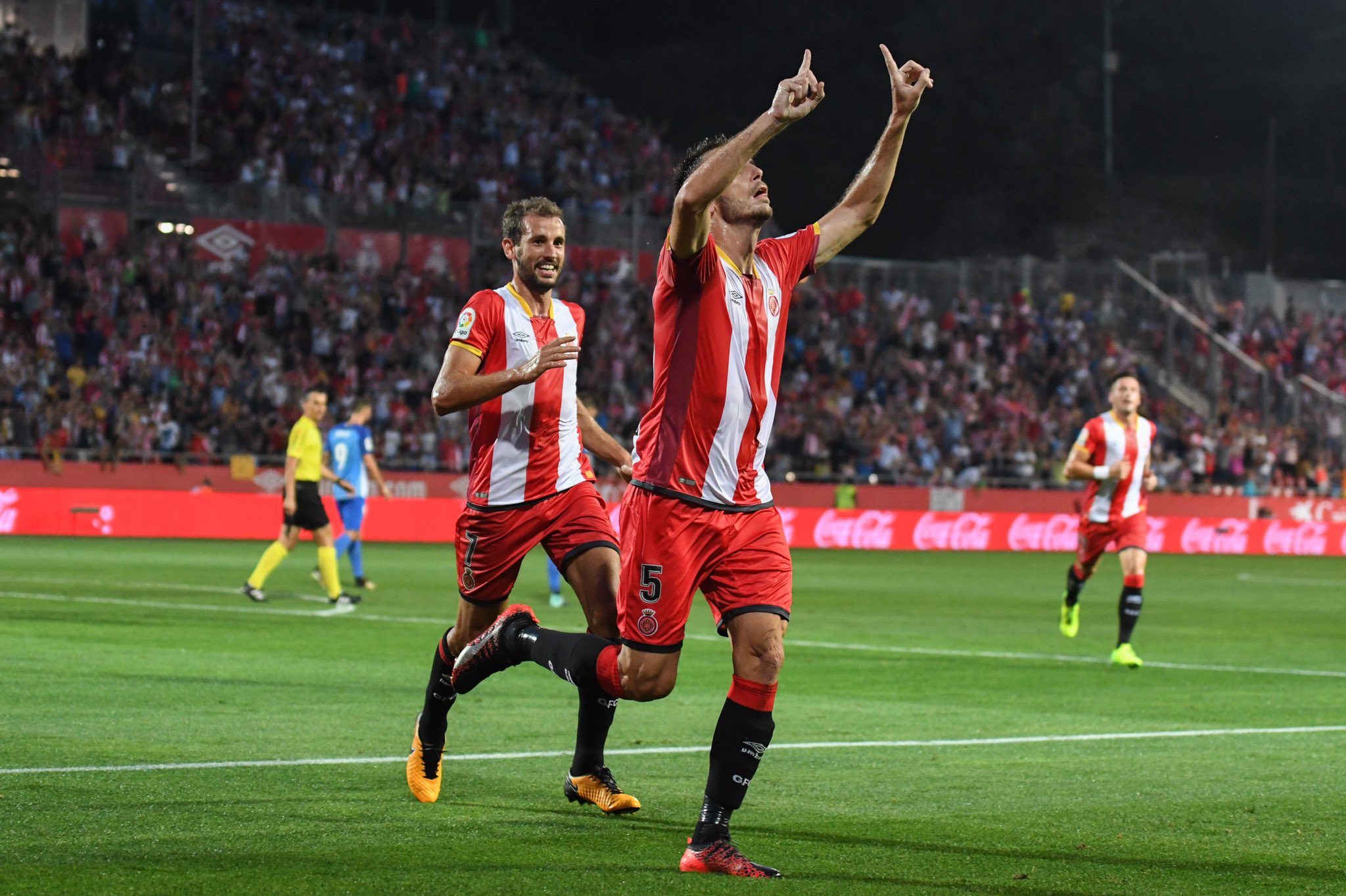 Alcala Stuani gol Girona Malaga   Girona FC