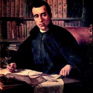Neix Jaume Balmes. Representació pictòrica. Font Wikimedia Commons