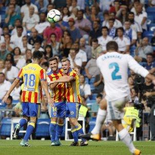 Valencia Madrid Bernabeu gol   EFE