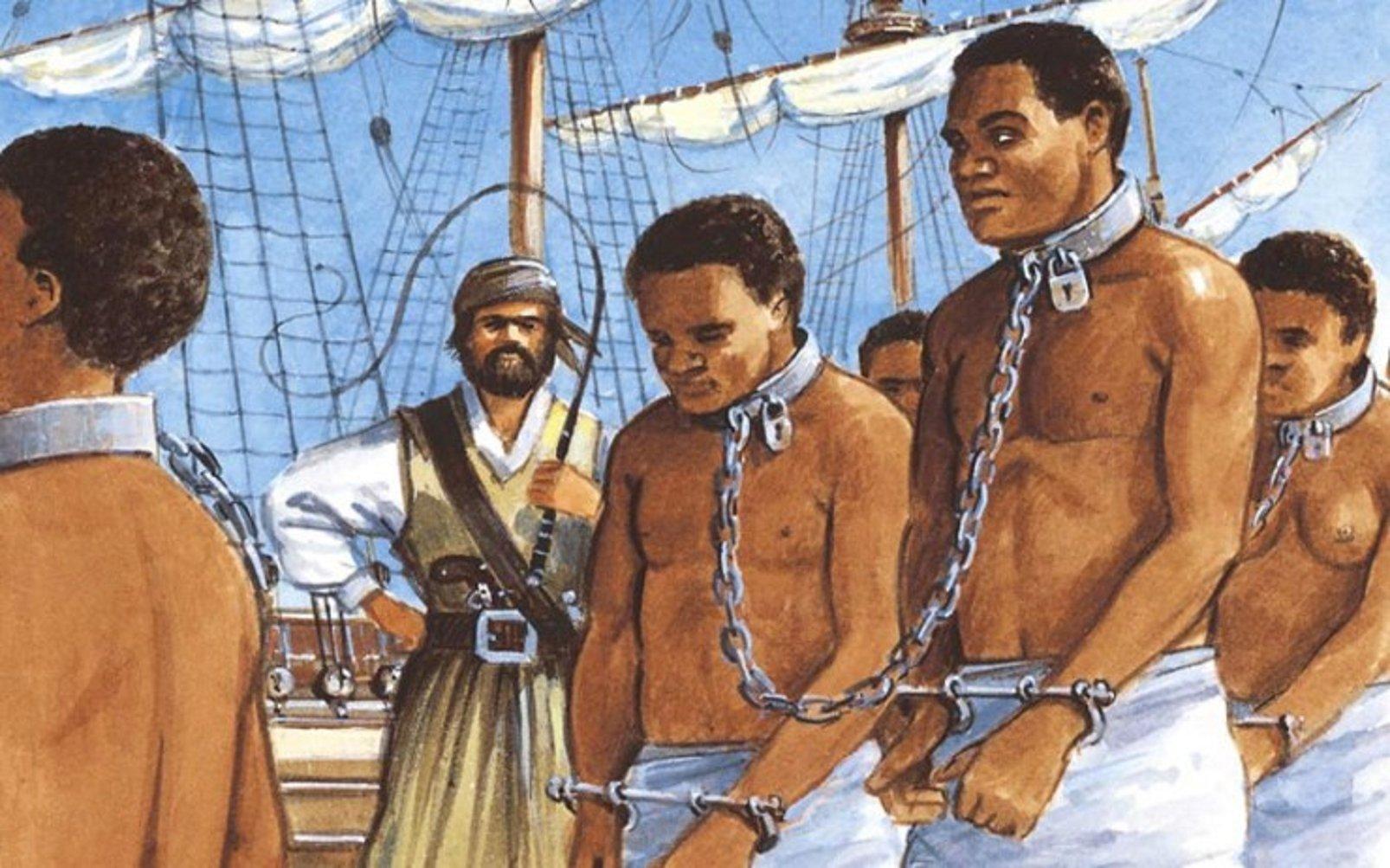 Resultado de imagen de barcos de esclavos