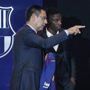 Josep Maria Bartomeu Ousmane Dembélé Barça Efe