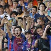 Afició aficionats Barça Efe