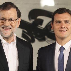 Mariano Rajoy-Albert Rivera-1-efe
