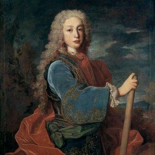 Mor Lluís I, el segon Borbó, per efecte de la verola. Representació pictórica. Font Viquipédia
