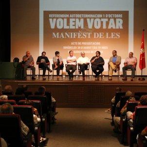 Manifest de Les Aran - ACN