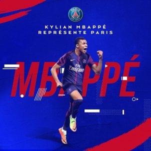 Kylian Mbappé @PSG inside
