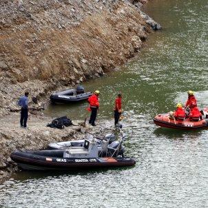 Investigació dels desapareguts al pantà de Susqueda / ACN