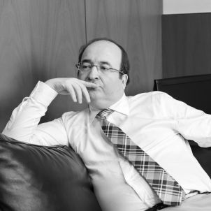 """Miquel Iceta: """"Si el Govern no tira endavant els pressupostos amb la CUP, ja sap on és el PSC"""""""