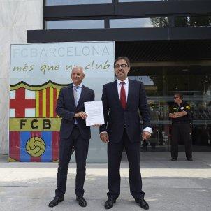 Agustí Benedito Barça Efe