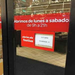 Carrefour obre l'1 O marta e.martí