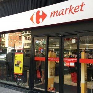 Un establiment de Carrefour market. Foto: Marta Martí