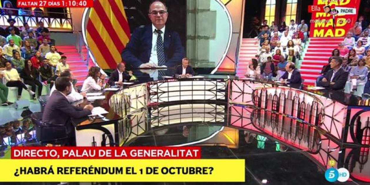 Jordi gonz lez amenaza a jordi turull en telecinco for Telecinco cuarto milenio