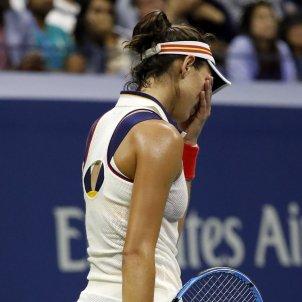 Garbiñe Muguruza US Open tennis Efe