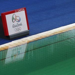 Aigua verda piscina Jocs Olímpics   EFE