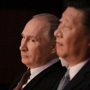 Putin i Jinping - EFE