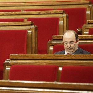 Miquel Iceta Escons Parlament - Sergi Alcàzar