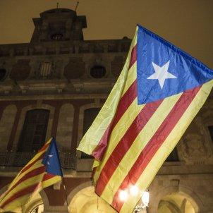 estelades Concentracio suport Forcadell Independencia Parlament - Sergi Alcazar