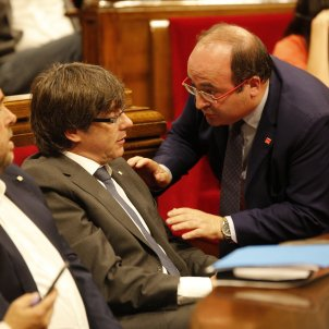 iceta puigdemont junqueras psc ple parlament sergi alcazar