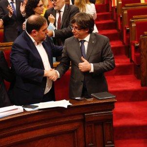 puigdemont junqueras ple parlament sergi alcazar