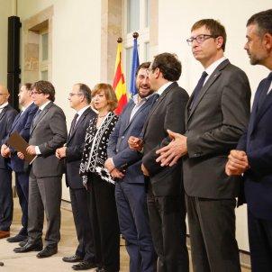 roda de premsa convocatoria referendum govern sergi alcazar