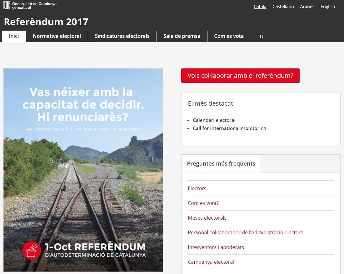 WEB REFERENDUM