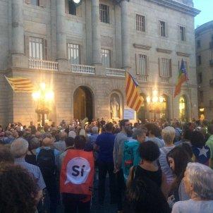 Ajuntament Barcelona manifestació 1-O