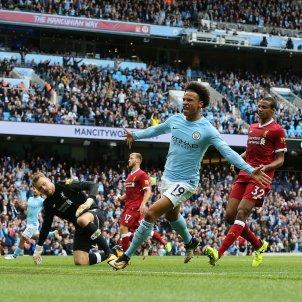 Leroy Sane Manchester City gol Liverpool   EFE
