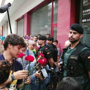 Valls Guàrdia Civil clavells