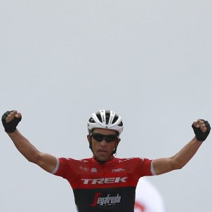 Alberto Contador Vuelta Espanya ciclisme Efe