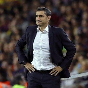 Ernesto Valverde Camp Nou Barça Espanyol   EFE