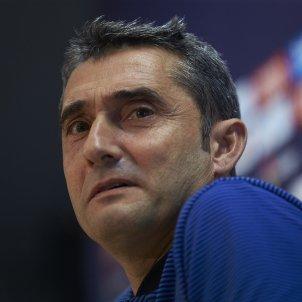 Ernesto Valverde roda de premsa previa Barça   Espanyol   EFE
