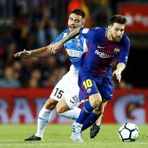 Leo Messi Barça Espanyol Camp Nou   EFE