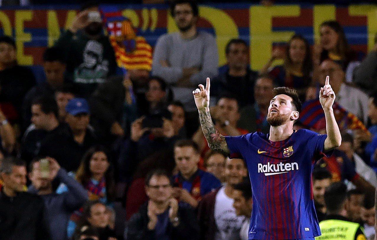 Leo Messi gol Barça Espanyol   EFE