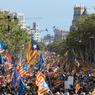 Diada 11S estelades independencia - Laura Gómez