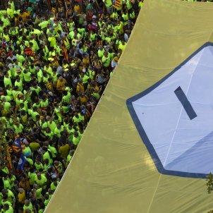 Diada 11S Urna Pancarta independencia - Sergi Alcàzar