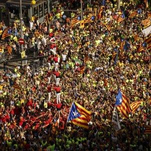 Diada 11S diada castellers independencia - Sergi Alcazar