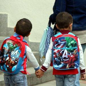 Nens que van a l'escola / ACN