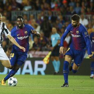 Higuain Semedo Pique Barça Juventus Camp Nou   EFE