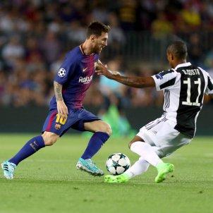 Leo Messi Douglas Costa Barça Juventus   EFE