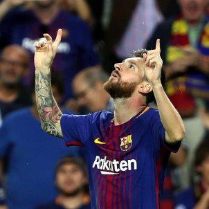 Leo Messi celebracio gol Barça Juventus   EFE