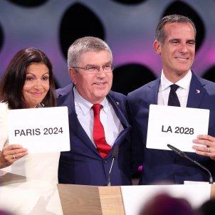 Comitè Olímpic Internacional COI Jocs Olímpics París Los Ángeles Efe