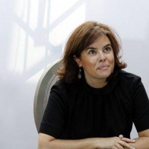 La vicepresidenta del Gobierno, Soraya Sáenz de Santamaría / ACN