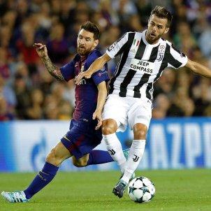 Leo Messi Pjanic Barça Juventus Camp Nou Champions   EFE