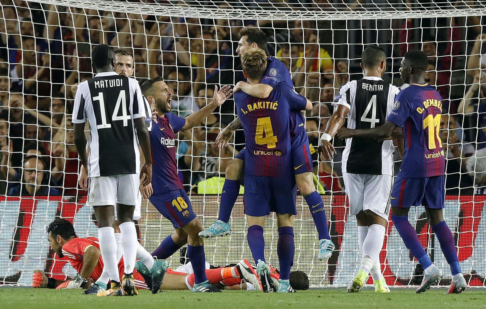 Leo Messi Ivan Rakitic Barça Juventus Champions   EFE