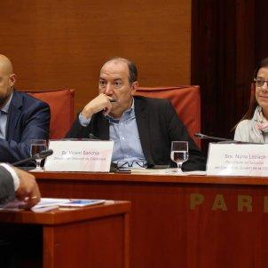 Gordillo, Sanchis i Llorach - Parlament